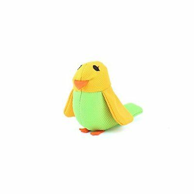 Beco Catnip Toy - Bertie the Budgie made from Recycled Plastic Bottles with Nort