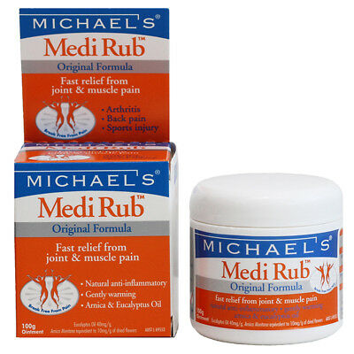 Michael's Medi Rub 100g Joint and Muscle Pain Relief