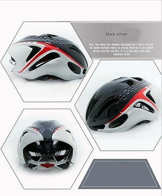 Red yellow green blue silver Outdoor Cycling road Bike Bicycle AERO Helmet M L