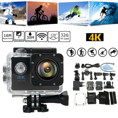 WiFi HD 1080P 16MP 140° SJ9000 Waterproof Sport Video Action Camera Camcorder GD
