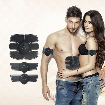 Smart ABS Six Pad Arm Waist EMS Training Muscle Stimulation Gear Body Exerciser