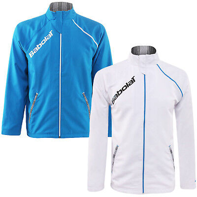 Babolat Mens Performance Long Sleeve Tennis Sports Training Jacket Tracksuit Top