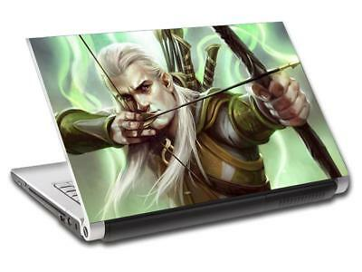 Legolas Lord Of The Rings Personalized LAPTOP Skin Decal Sticker ANY NAME L402