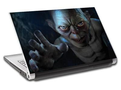 Gollum Lord Of The Rings Personalized LAPTOP Skin Vinyl Decal Sticker NAME L360