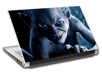 Gollum Lord Of The Rings Personalized LAPTOP Skin Vinyl Decal Sticker NAME L359
