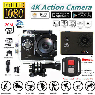 Single Screen SJ7000R 4K Wifi HD 1080P Action HD Camera DVR Cam Camcorder