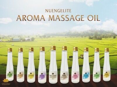 Nuengelite Aroma Massage Oil 60 ml and 1 Liter