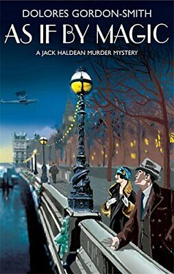 As if by Magic by Gordon-Smith, Dolores Hardback Book The Cheap Fast Free Post