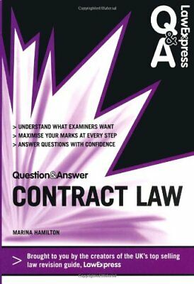 Law Express Question and Answer: Contract La... by Hamilton, Ms Marina Paperback