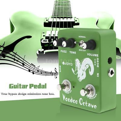 JOYO JF-12 Voodoo Octave Fuzz Effect Guitar Effect Pedal True Bypass AU Deliver