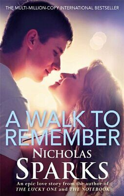 A Walk To Remember by Sparks, Nicholas Paperback Book The Cheap Fast Free Post