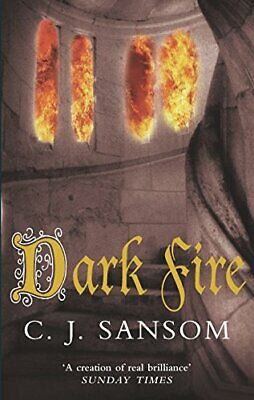 Dark Fire (The Shardlake series) by Sansom, C. J. Paperback Book The Cheap Fast