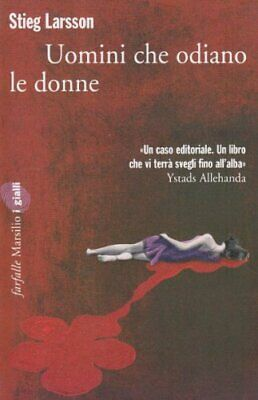 Uomini Che Odiano Le Donne by Larsson, Steig Book The Cheap Fast Free Post