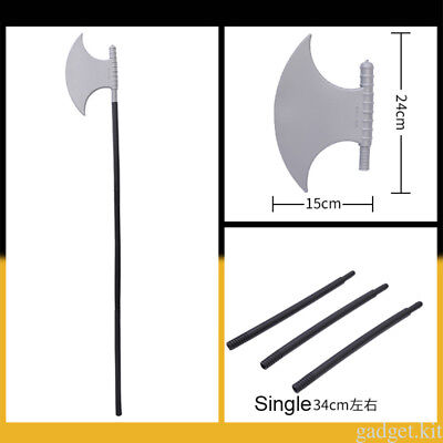 Halloween Plastic Devil Pitch Fork Trident Cosplay Party Fancy Dress Props