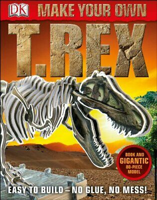 Make Your Own T-Rex (DK) by DK Book The Cheap Fast Free Post