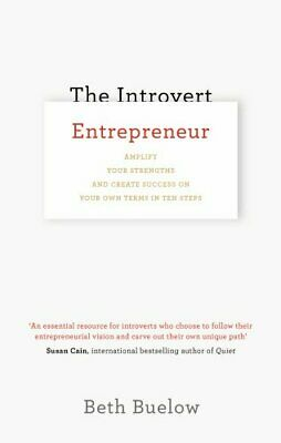 The Introvert Entrepreneur by Buelow, Beth Book The Cheap Fast Free Post