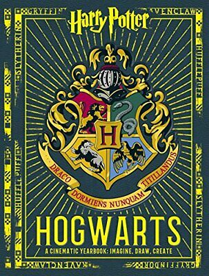 Harry Potter: Hogwarts: A Cinematic Yearbook by Scholastic, Book The Cheap Fast