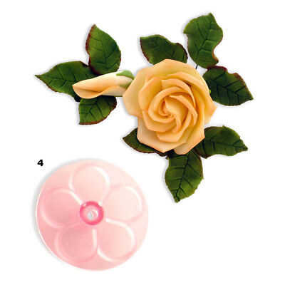 JEM 90mm EASY ROSE Flower Icing Cut Out Cutters Sugarcraft Cake Decoration