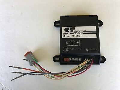 Woodward St125 8405-307 Speed Control 12/24 Vdc
