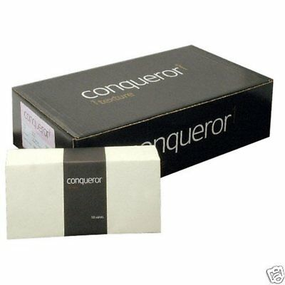 50 x Conqueror CX22 Superseal Wallet Envelope 120gsm DL 110x220mm Cream Wove J4C