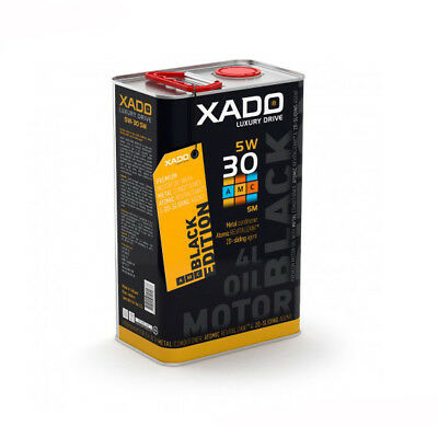 XADO LUXURY DRIVE 5W-30 SM Synthetic Engine Oil With Atomic Metal Conditioner