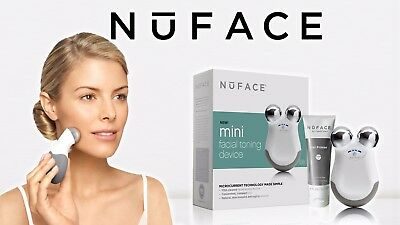 NuFACE Mini Facial Toning Device Reduce Wrinkles Improve Skin Tone