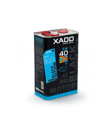 XADO LUXURY DRIVE 5W-40 SM Synthetic Engine Oil With Atomic Metal Conditioner