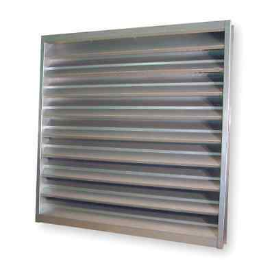 "DAYTON 4FZG7 Galvannealed Steel Intake Louver, Wall Opening: 36"" x 24"" NEW! #39E"