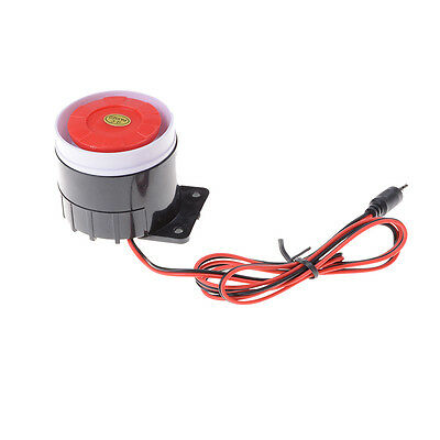12V 120dB Wired Indoor Siren Horn Ear Piercing For Home Security Alarm System JX