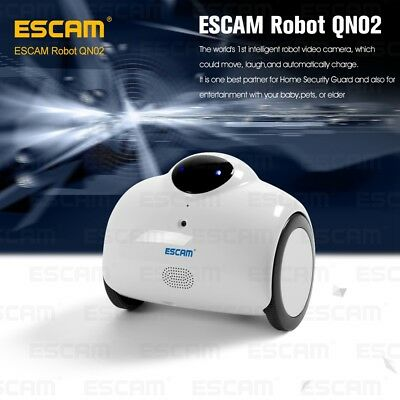 ESCAM QN02 wireless WI-FI Camera 720P IP Cam indoor for iPhone iPad Android Mic