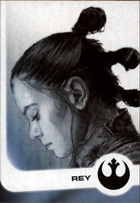 2017 Star Wars Journey to The Last Jedi Illustrated Character Singles-Pick Cards