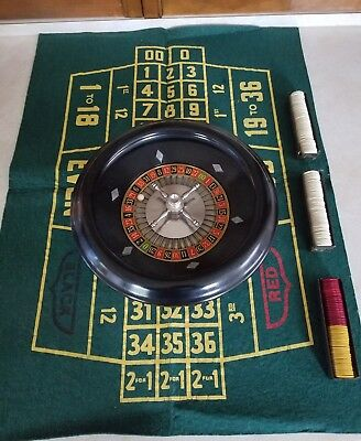Vintage Roulette Game in Nice Condition - 1950's (?) by Rottgames NYC