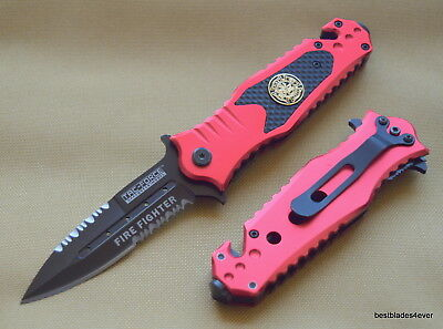 7.75 Inch Tacforce Tactical Fd Spring Assisted Knife With Pocket Clip