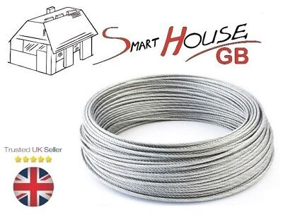 1.5mm Stainless Steel Wire Rope A4 Marine Grade Cable 7x7 Price Per Meter