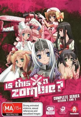 Is This a Zombie? Complete Series DVD Season 1 & 2 Anime Manga Region 4 [New]