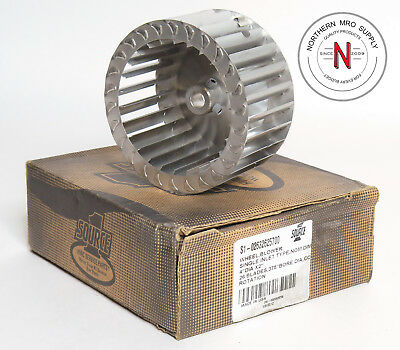 """SOURCE 1 S1-02632625700 WHEEL BLOWER, SINGLE INLET, 4"""" x 2"""", .375"""" BORE CC ROT."""