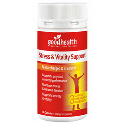 Good Health - Stress & Vitality Support - 60 Capsules