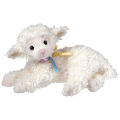 TY Beanie Baby - TENDER the Lamb (7 inch) - MWMTs Stuffed Animal Toy