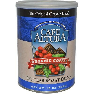 Cafe Altura Organic Coffee Regular Roast Decaf Coffee 339 Gm Regular Roast
