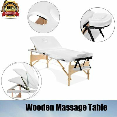 Adjustable Table Heights Portable Massage Table Beauty Therapy Bed Chair Waxing