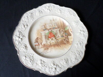 Crown Ducal. Sam Weller Composes His Valentine. Plate. Made In England.