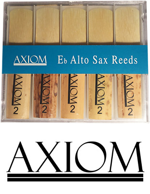 Axiom Alto Sax Reed 2.0 - Box of Ten Quality Saxophone Reeds