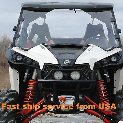 CANAM MAVERICK  MAVERICK MAX 1000 R Turbo UTV Full Windshield 2013 - 2017