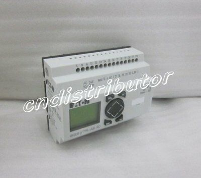 New In Box Moeller Programmable Relay EASY719-AB-RC, 1-Year Warranty !