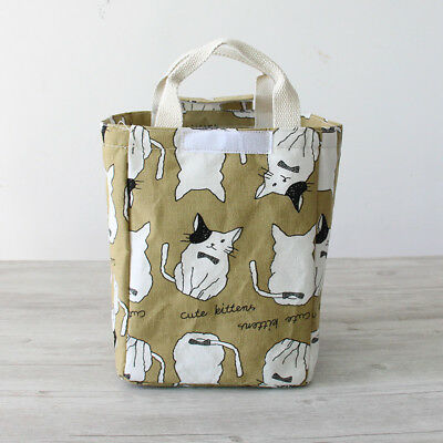 KCASA Insulated Thermal Cooler Lunch Box Carry Tote Storage Hand Bag Picnic Case