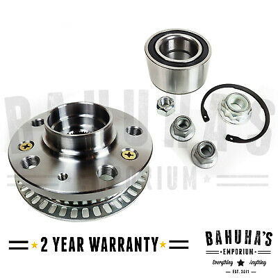 Front Wheel Bearing Kit With Hub+ Abs For Vw Bora, Golf Mk4 97-05 2Yr Warranty