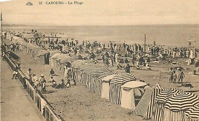 14 Cabourg Plage Animee