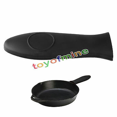 Heat-Resistance Silicone Pan Handle Holder Cover Grip Home Utensil Tool