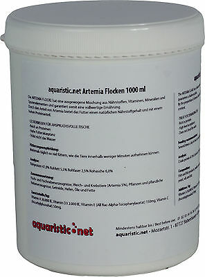 aquaristic.net ARTEMIA Flocons 1000 ml