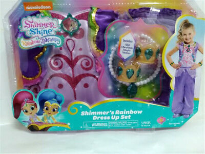 Shimmer and Shine Boxed cosplay whole outfit - Shimmer's ranbow dress up set